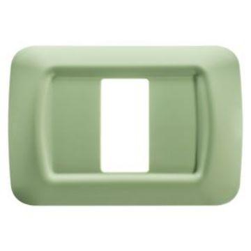 Poza cu Rama Gewiss Top System, verde venetian, 1 modul, GW22541