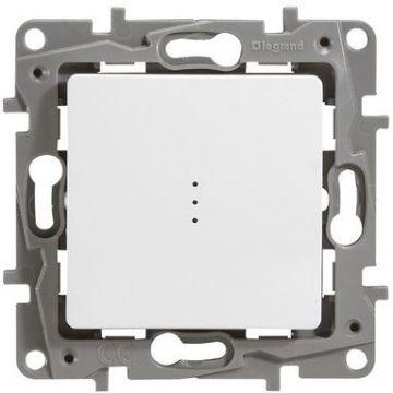 Poza cu Intrerupator cap scara cu led IP20, alb, Niloe, 664510