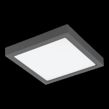 Poza cu Eglo Connect plafoniera LED exterior Argolis Anthracite-C 98174