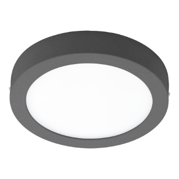 Poza cu Eglo Connect plafoniera LED exterior Argolis Anthracite-C 98173