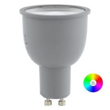 Poza cu Eglo Connect bec LED GU10 5W RGB 400LM 11671