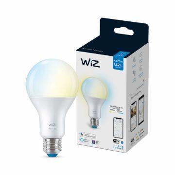 Poza cu Bec LED WiZ smart WIFI Bluetooth E27 A67 1521lm Tunable White