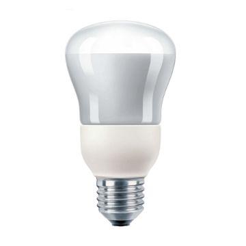Poza cu Bec economic Philips Downlighter R60 8W E27 lumina calda, 280LM