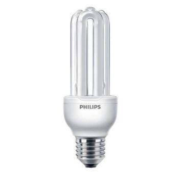 Poza cu Bec economic Philips Economy Stick, 18W, E27, lumina calda, 1100LM