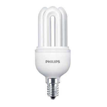Poza cu Bec economic Philips Genie, forma stick, 11W, E14, lumina calda, 600LM