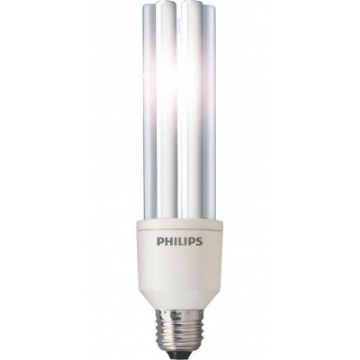 Poza cu Bec economic Philips Master PL-E forma stick 33W E27 lumina calda 2250LM