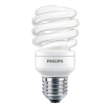 Picture of Bec economic spirala Philips Economy Twister 15W, E27, lumina rece, 900LM