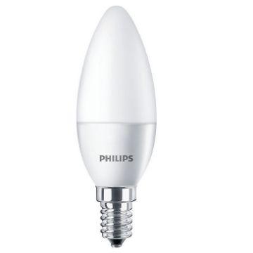 Poza cu Bec LED Philips CorePro LED 4W, E14, B35 lumina calda 250LM PS02336